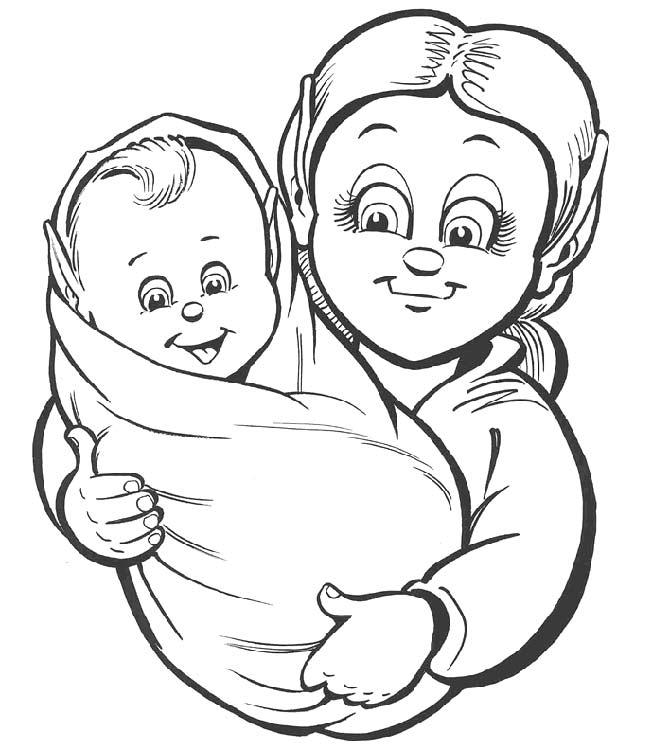 Прикольные, раскраска про маму на день матери распечатать
