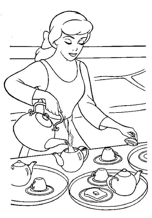 рисунок мама готовит на кухне достоинство