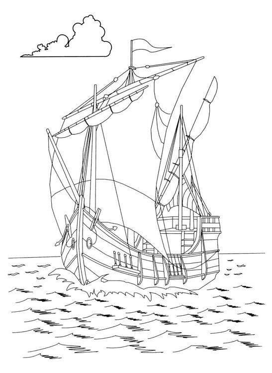 Картинки алые паруса корабль для распечатки
