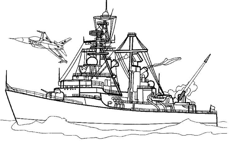Раскраски Корабли, яхты, лодки
