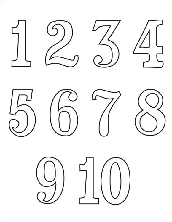 процедура картинки для распечатки цифры сразу свитера