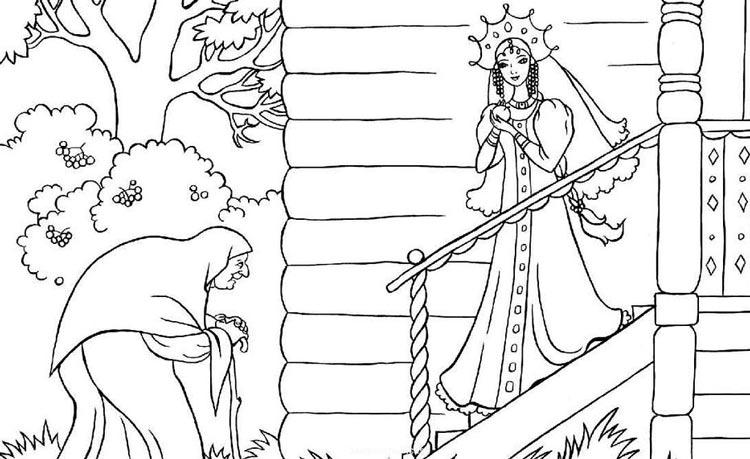 Как нарисовать мёртвую царевну карандашом поэтапно