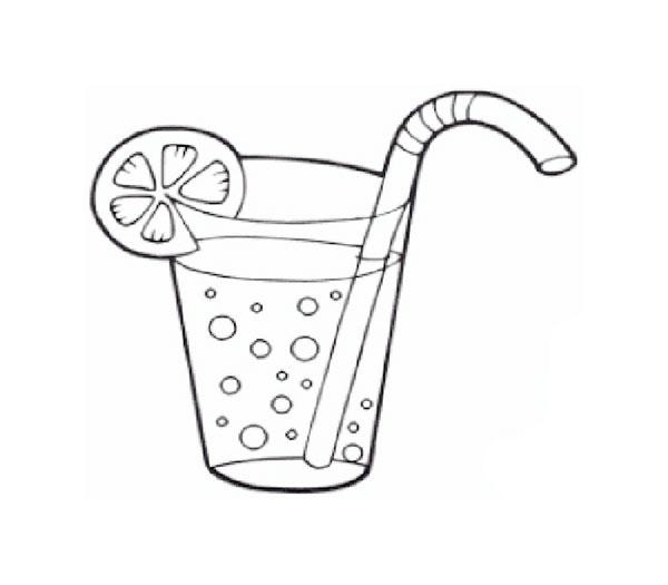 Раскраска Яблочный сок  Раскраски для детей печать онлайн