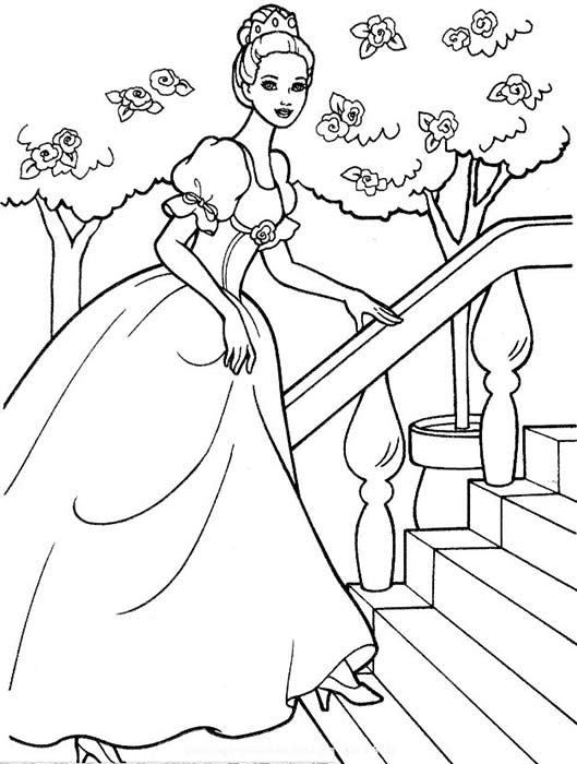 Pretty Princesses Coloring Book Disney Princess Color