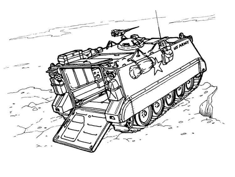 Раскраски военная техника для дошкольников i