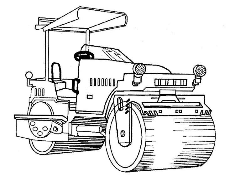 Раскраски Строительная и сельскохозяйственная техника