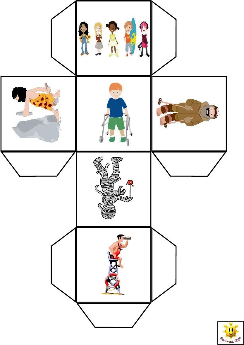 Кубики историй своими руками распечатать 20