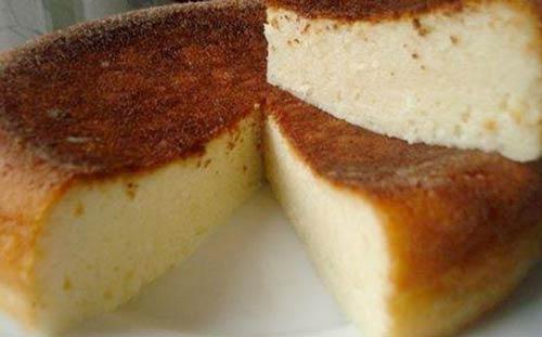 Творожный кекс с манкой в духовке