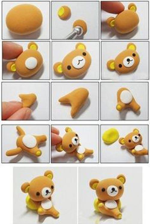 Инструкция как сделать мишку фото 944